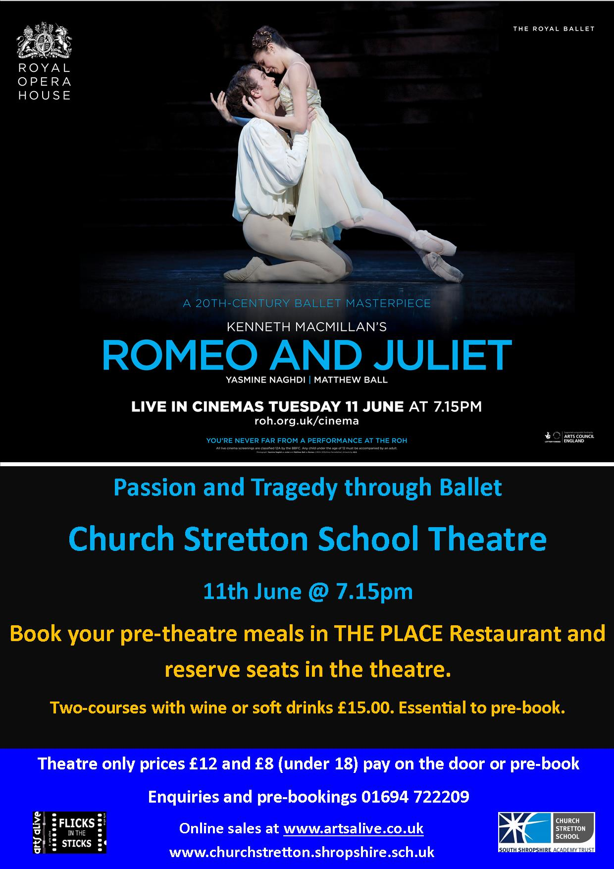 Romeo and Juliet poster.